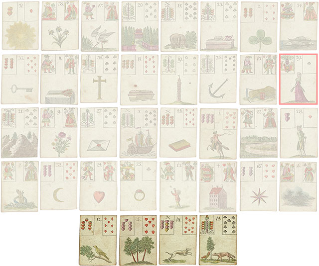 Lenormand Cards of fate