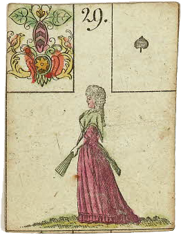 Lenormand Woman