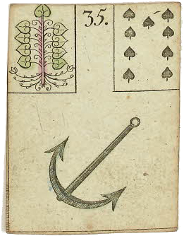 Lenormand card Anchor