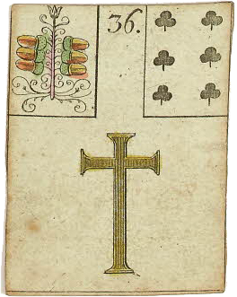 Lenormand card Cross